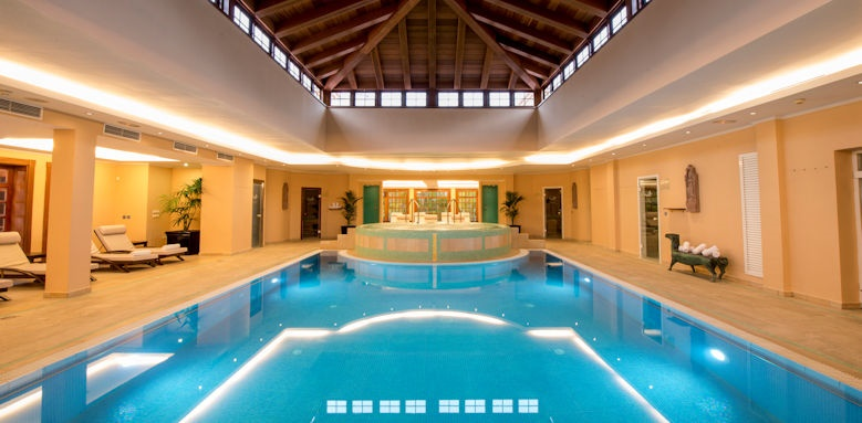Hotel Botanico, spa indoor pool