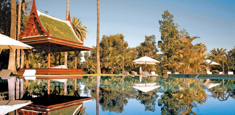 Botanico, spa garden
