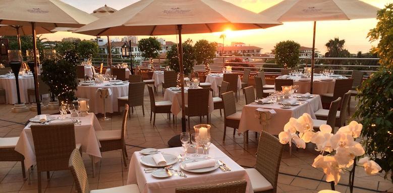 Hotel Botanico, Il Papagallo restaurant