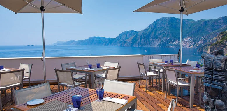 Casa Angelina, restaurant terrace