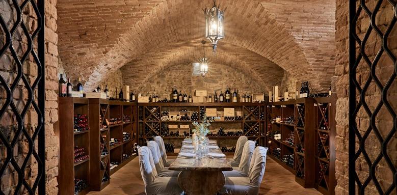 Castello del Nero, wine cellar