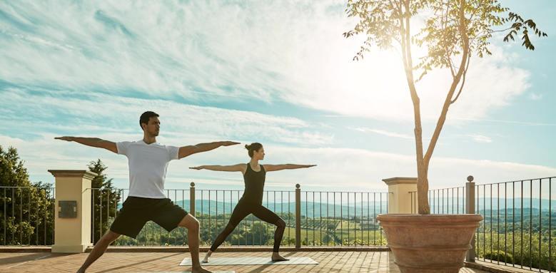 Castello del Nero, yoga