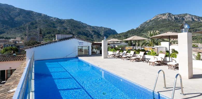 Gran Hotel Soller, rooftop swimming pool