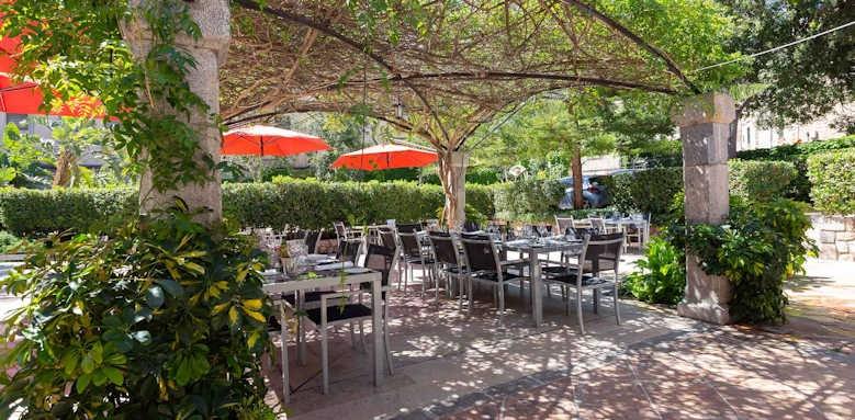 Gran Hotel Soller, outdoor restaurant