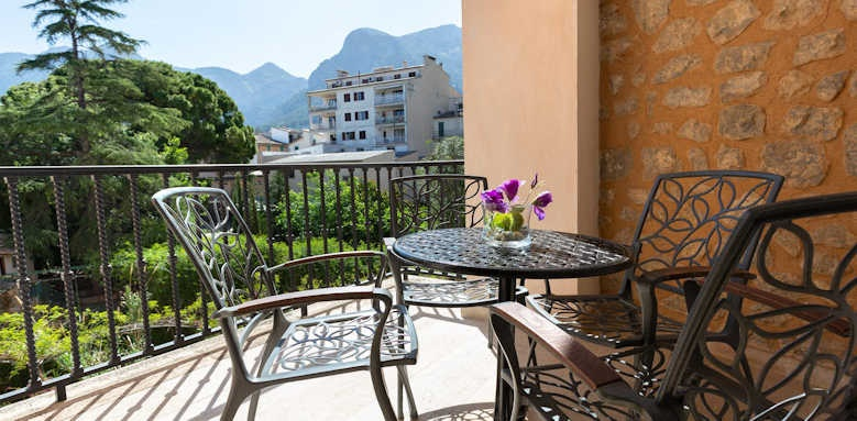 Gran Hotel Soller, executive view room balcony