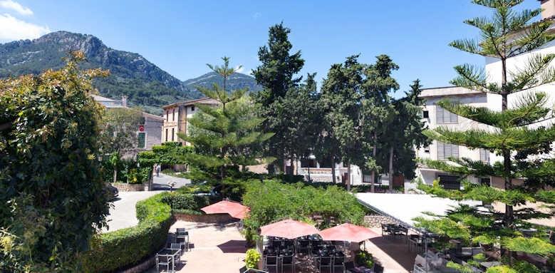 Gran Hotel Soller, grounds view