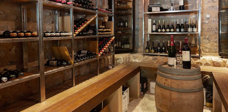 Gran Hotel Soller, wine cellar