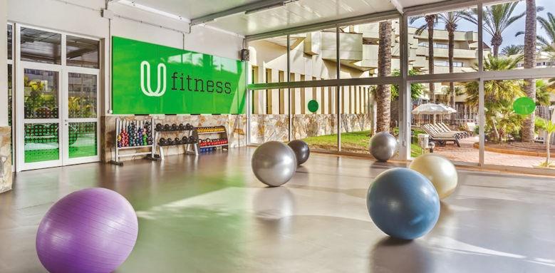 barcelo corralejo bay, fitness