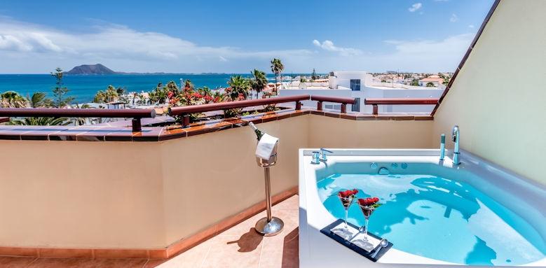 barcelo corralejo bay, balcony