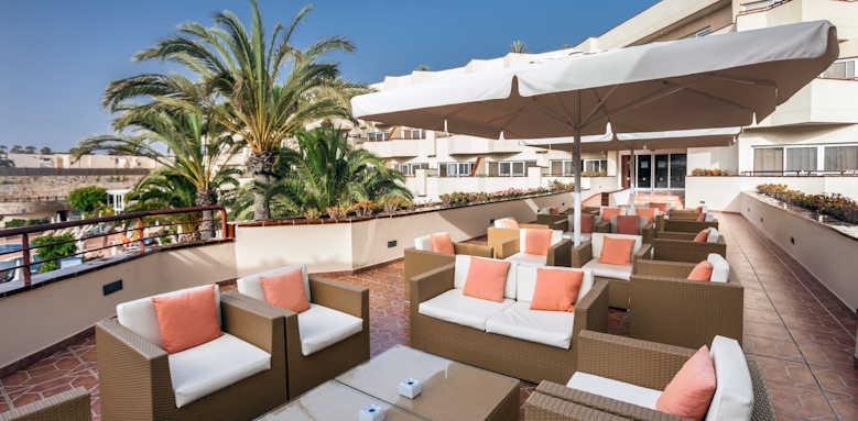 Barcelo Corralejo bay, terrace area