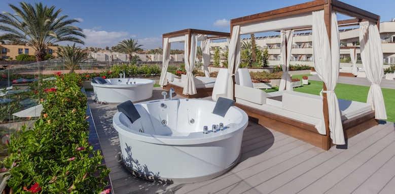 Barcelo Corralejo Bay, outside hot tub