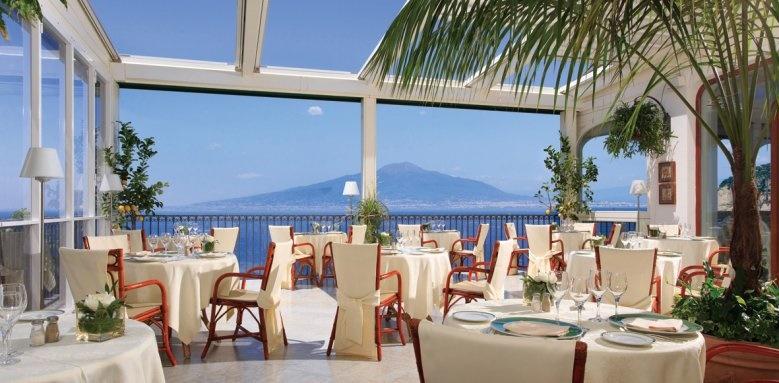 Grand Hotel Ambasciatori, restaurant