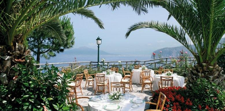 Grand Hotel Ambasciatori, Terrace