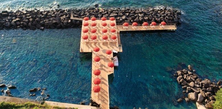 Grand Hotel Ambasciatori, Swim platform