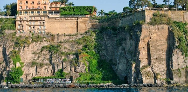 Grand Hotel Ambasciatori, View from sea