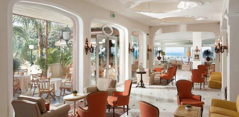 Grand Hotel Ambasciatori, Lobby garden side