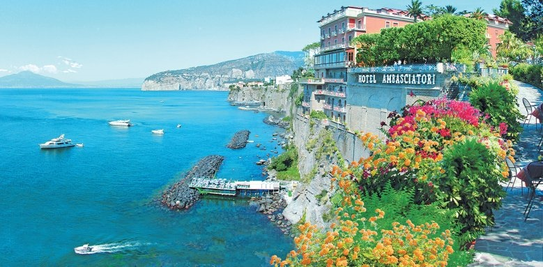 Grand Hotel Ambasciatori, view