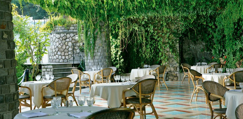 Grand Hotel Capodimonte, Gill Restaurant