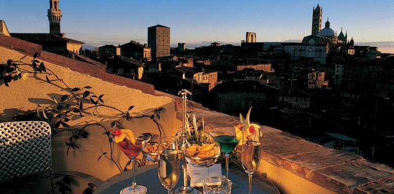 Grand Hotel Continental, terrace