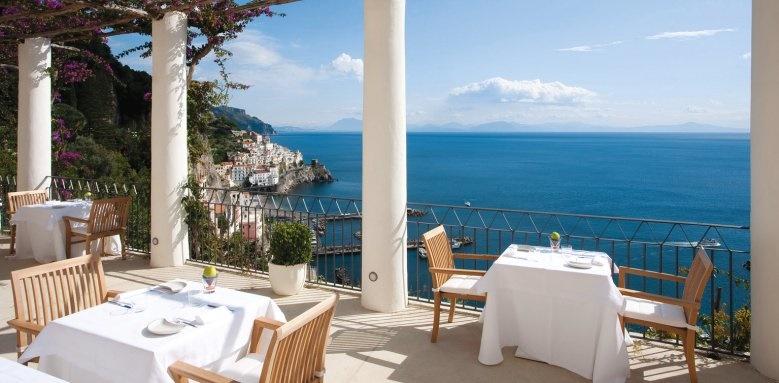 Grand Hotel Convento Di Amalfi, terrace view