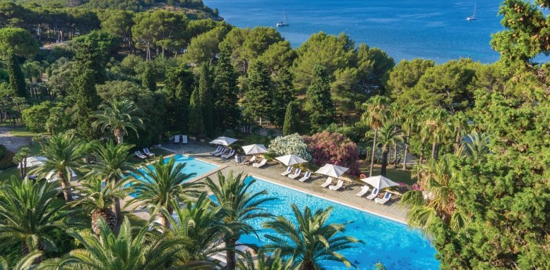 Royal Hideaway Formentor, pool & sea view