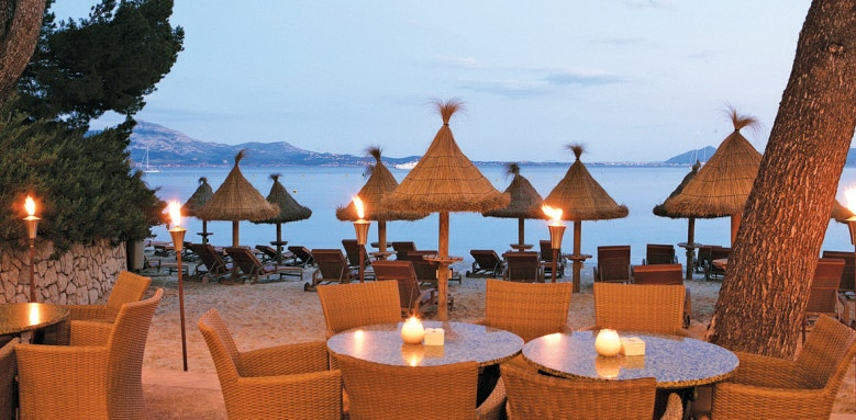 Royal Hideaway Formentor, terrace restaurant