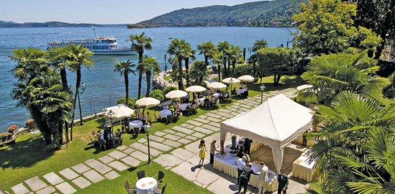 Grand Hotel Dino, terrace