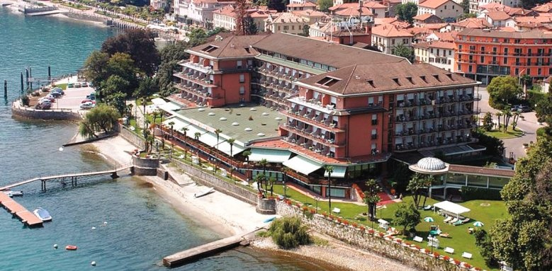 Grand Hotel Dino, aerial view