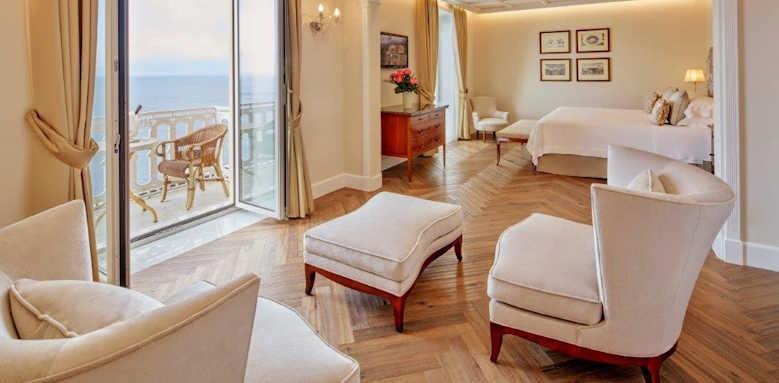 Grand Hotel Excelsior Vittoria, deluxe suite