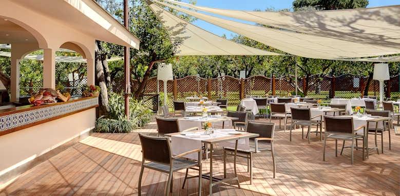 Grand Hotel Excelsior Vittoria, restaurant copia