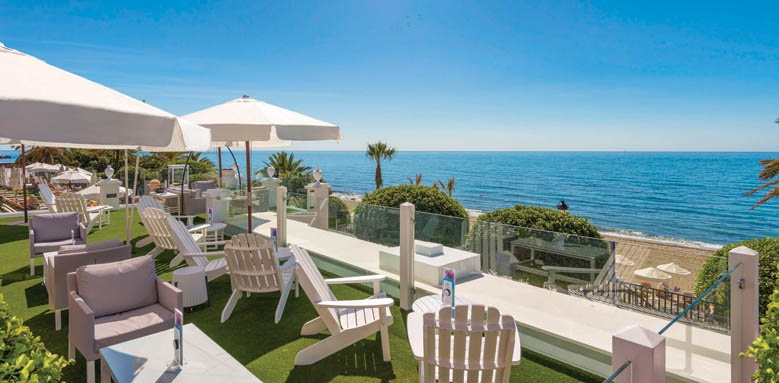 Hotel Fuerte Marbella, chill-out lounge