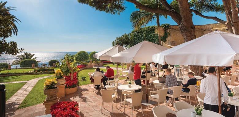 Hotel Fuerte Marbella, los pinos terrace