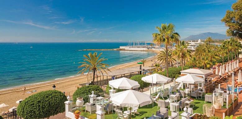 Hotel Fuerte Marbella, beach