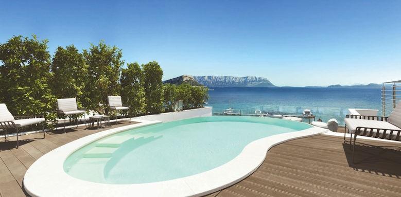 gabbiano azzurro, suite pool
