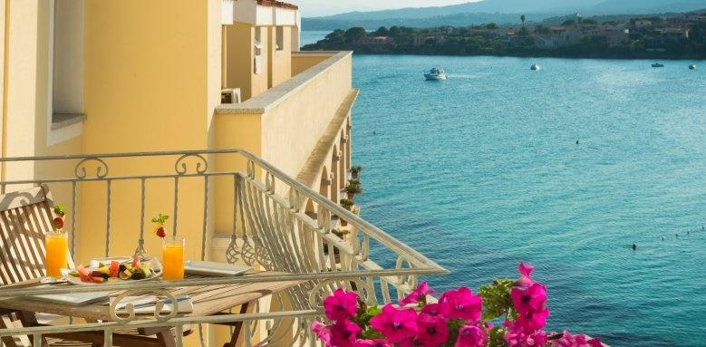 gabbiano azzurro, balcony