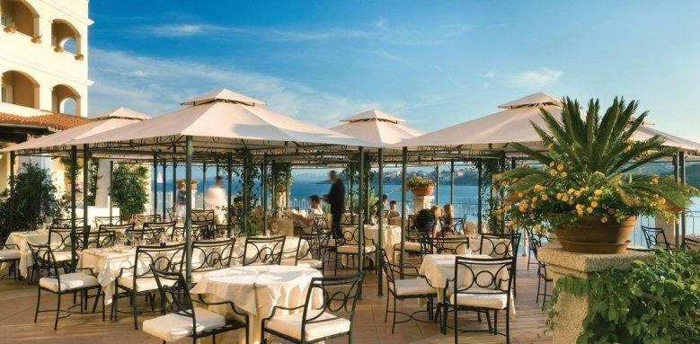 Hotel Gabbiano Azzurro, terrace