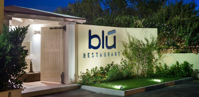 Hotel Gabbiano Azzurro, Restaurant Blu