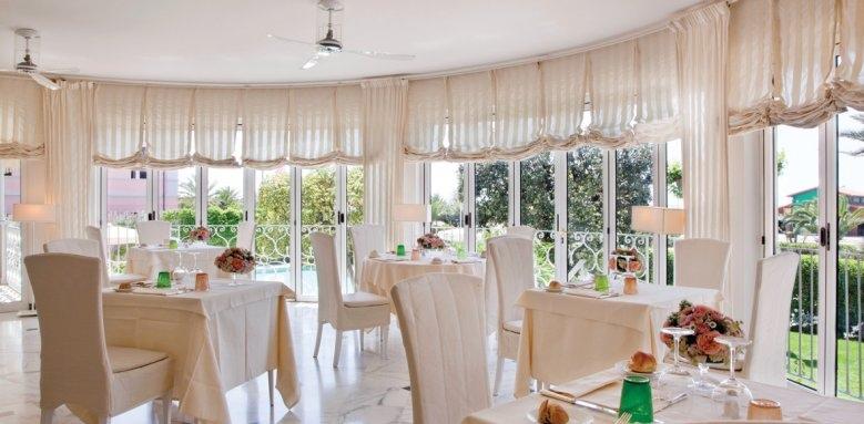 Hotel IL Negresco, Le terrazza restaurant