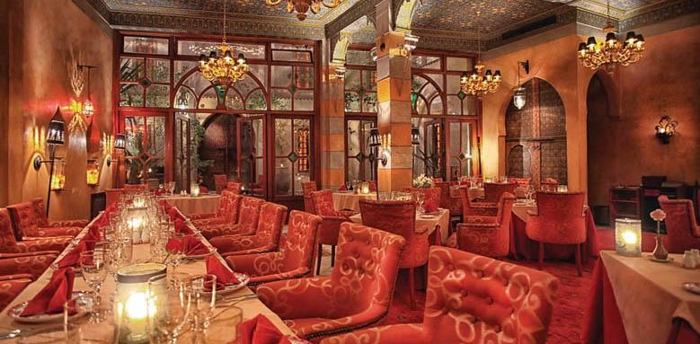 La Maison Arabe, Le Restaurant Marocain