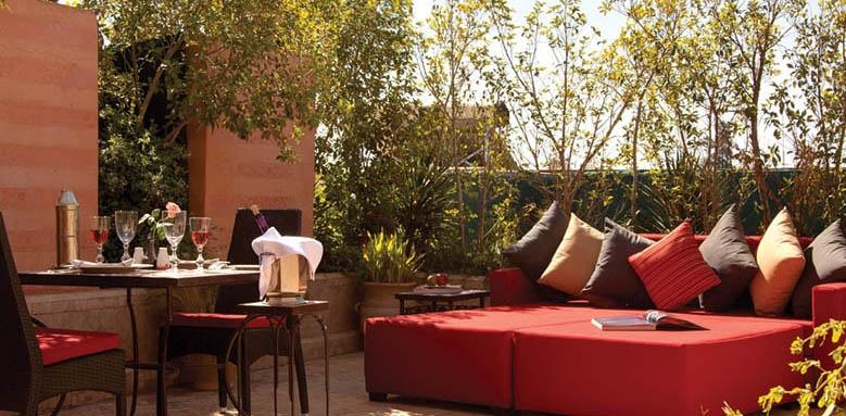 La Maison Arabe, terrasse suite