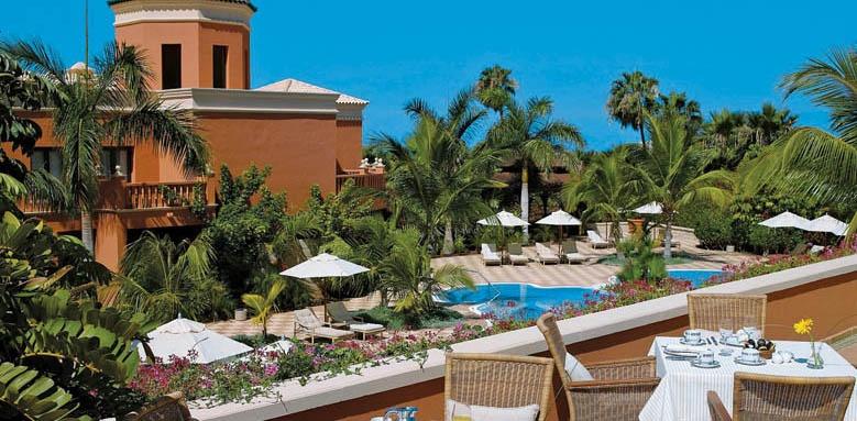 Hotel Las Madrigueras, breakfast terrace