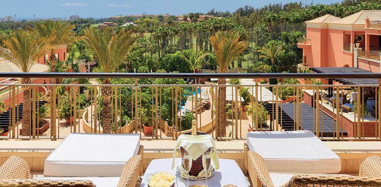 Hotel Las Madrigueras, balcony view