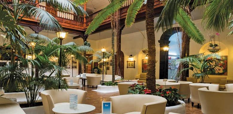 Hotel Monopol, atrium