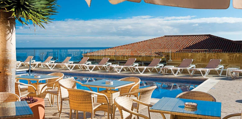 Hotel Monopol, pool terrace