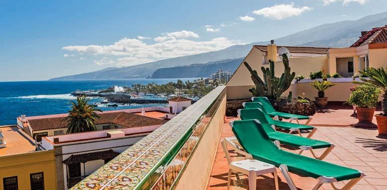 Hotel Monopol, terrace view