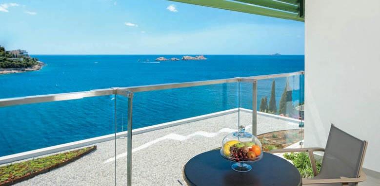 hotel more, sea view balcony