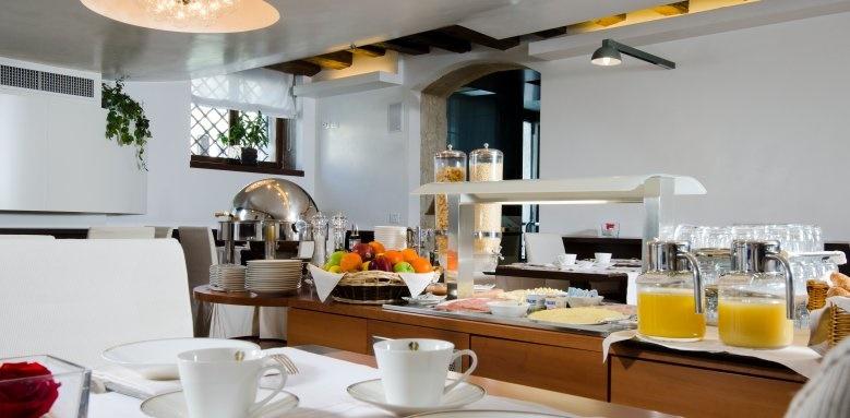 Hotel Palazzo Giovanelli, Breakfast