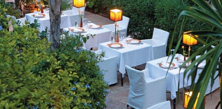 Les Jardins De La Koutoubia, dining terrace