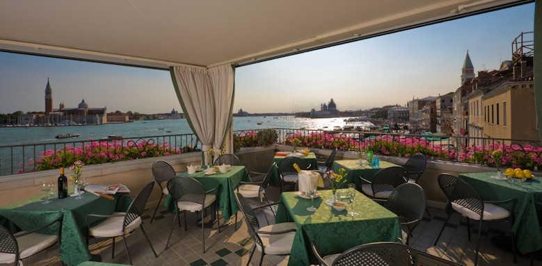 Locanda Vivaldi Hotel, roof top restaurant
