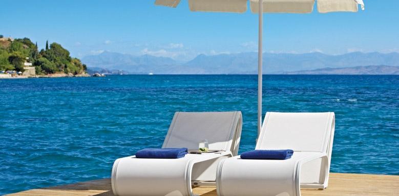 MarBella Corfu, Sun loungers